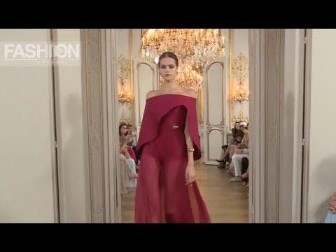 ANTONIO GRIMALDI Fall 2018 Haute Couture Paris - Fashion Channel