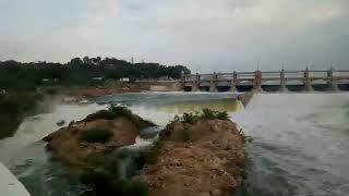 Mettur dam Latest Video with full capacity   மேட்டூர் அணை நீர்மட்டம் உயர்ந்து 2018