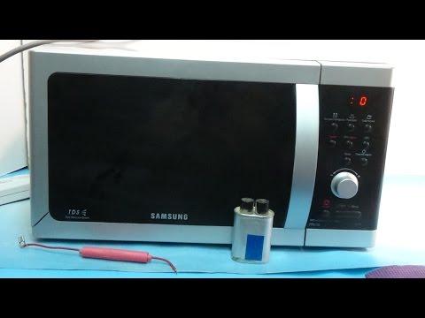 Ремонт микроволновки Samsung не греет