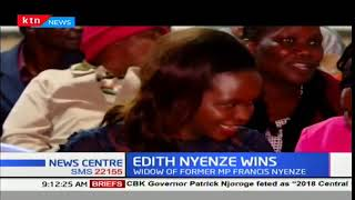 Edith Nyenze wins the Wiper Party nominations