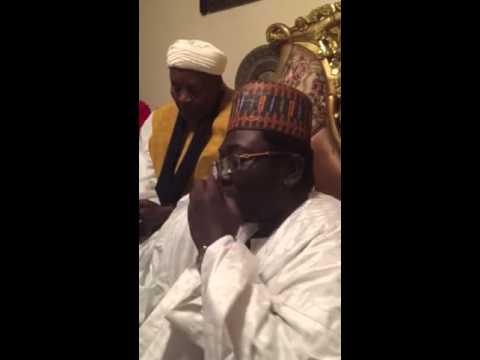 Sheikh Makki Niass (RTA) giving a talk part2