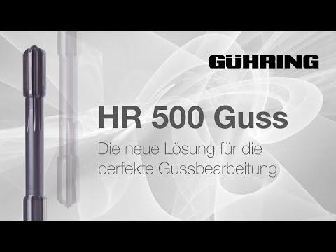 HR500 GUSS - Die neue Lösung für die perfekte Gussbearbeitung