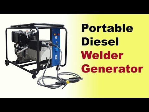 Welding Generator Machine