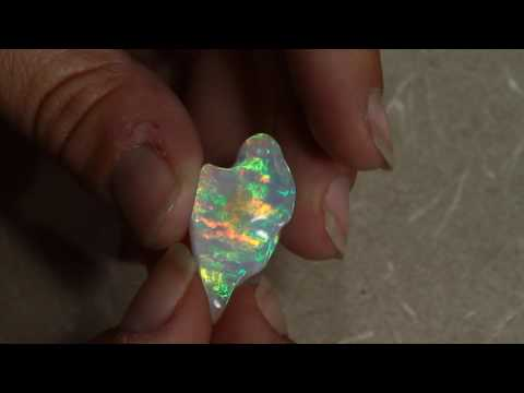 Sculptured Welo Opal 25.50 Carat