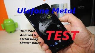 Test Ulefone Metal, Metalowy telefon z 3GB RAM i skanerem palca za 400zł