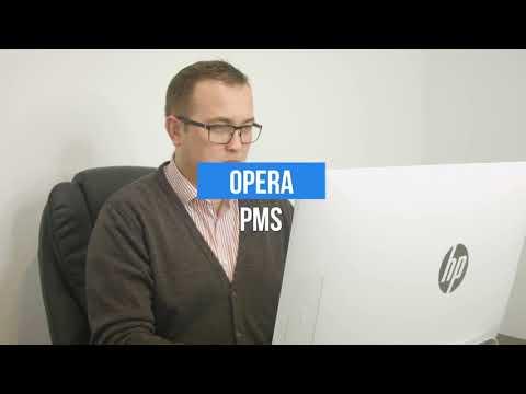 Hotel Receptionist & Opera PMS Classroom Training - YouTube