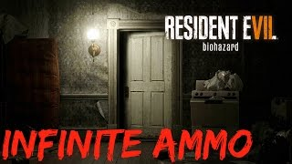 Resident Evil 7 Infinite Ammo   How To Get Unlimited Ammo