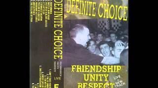 Definite Choice - Bartomania