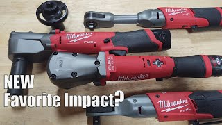 """Milwaukee Tool M12 FUEL 3/8"""" & 1/2"""" Right Angle Impact Wrench Review 
