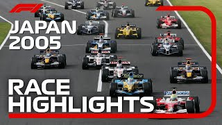 2005 Japanese Grand Prix: Race Highlights | DHL F1 Classics