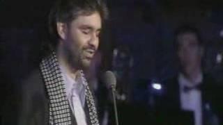 """Andrea Bocelli """"Con Te Partiro """" Live on stage in Tuscany"""