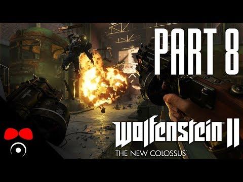 ZASTÁVKA V BUNKRU! | Wolfenstein 2: The New Colossus #8