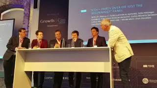 Carlos Creus Moreira Surak ing about ICOs at GROWTH CON 2018 Frankfurt