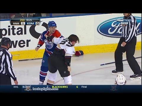 Matt Beleskey vs Steve Pinizzotto
