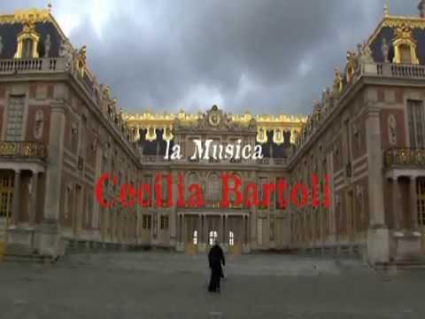 Cecilia Bartoli  chante Agostino Stefani  . Chateau de  Versailles