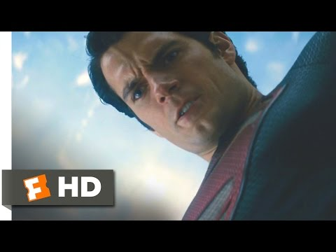 Man of Steel - Either You Die or I Do Scene (9/10) | Movieclips