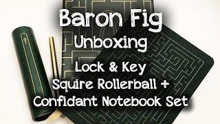 Unboxing @BaronFig Lock & Key Set