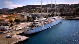 Video Drone over the Port of Nice (by Dronimages)