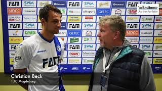 FCM: Beck nach Paderborn-Sieg