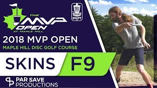 2018 MVP Open - Doubles Skins Match Front 9 - Conrad/Anthon, Masters/Dickerson, Stoll/Messerschmidt