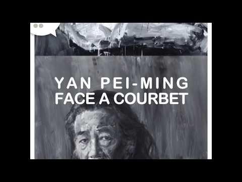 Expo Yan Pei-Ming face à Courbet