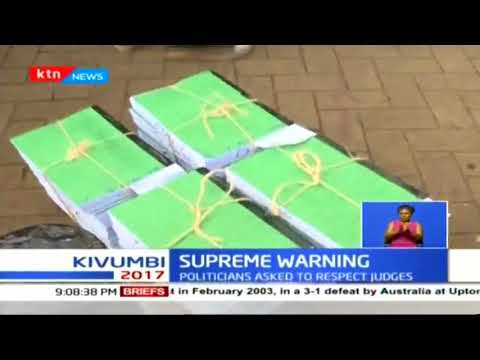 Supreme Court bars Kenyans from discussing the election petition by NASA