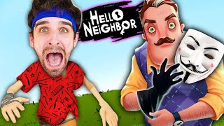 HACKERS in HELLO NEIGHBOR Game? I Found Red Safe in Hide and Seek Challenge vs Escape Project Zorgo!