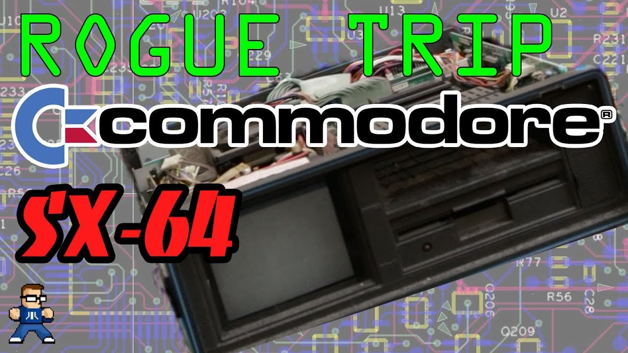 Jon's Crazy Commodore SX-64 (Retro Tech Rogue Trip 01)