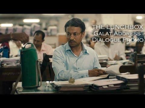 The Lunchbox   Galat Address Promo   Irrfan Khan   Nawazuddin   Nimrat Kaur