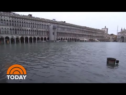 Venice Flooding Comes Within Inches Of All-Time Record | TODAY