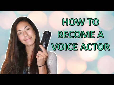 How To Become a Voice Actor (Without any experience!)
