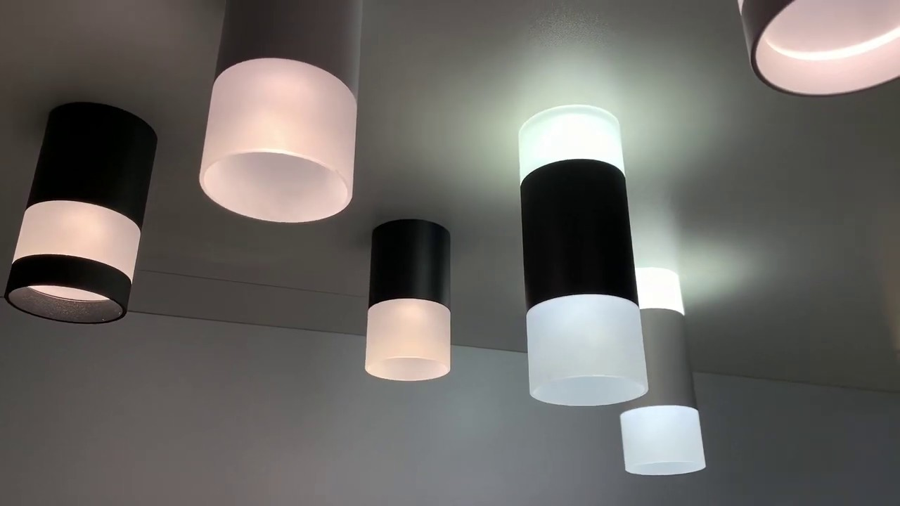 Накладной светодиодный светильник Novotech Elina 358319