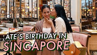 Singapore with family by Alex Gonzaga