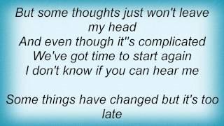 Death Cab For Cutie - Start Again Lyrics