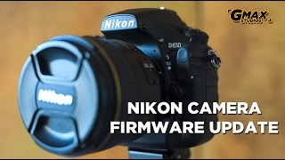 Nikon firmware update | How to do it for all models | What is