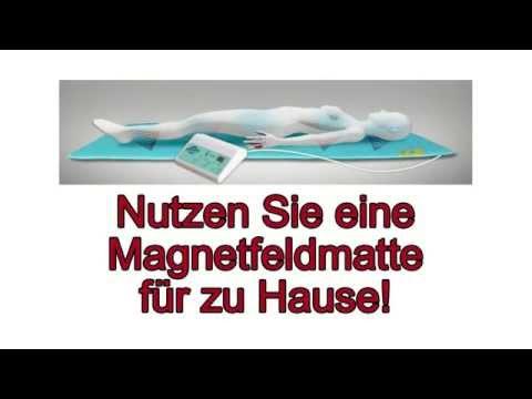 Magnetfeldtherapie zu Hause durch günstige Magnetfeldmatte