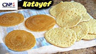 How to make Katayef (Qatayef) in 4K Ultra HD - in English and Arabic by Salma El Marjiya Villarreal