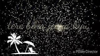Tere bina jeena kya  song lyric video - YouTube