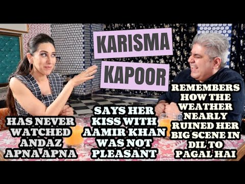 Karisma Kapoor interview with Rajeev Masand | Mentalhood | Coolie No 1 | Andaz Apna Apna