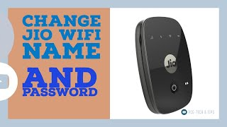 Reset JioWiFi Name and Password | JioFI Help Video