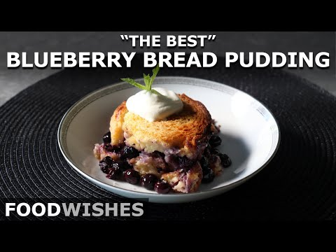Blueberry Puddings Just Don't Get Any Better Than This!