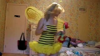 Aqua-Bumble Bee (Wanna be my flower) Bumble Bee