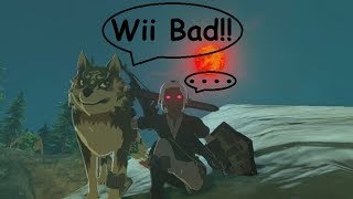 Dark Link And Wolf Link: Creatures Of The Night!!! (Fetch W/ Stal Parts) Zelda BotW