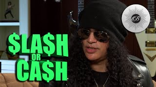 Guitar Legend Slash Dishes on Leather Pants & Manscaping
