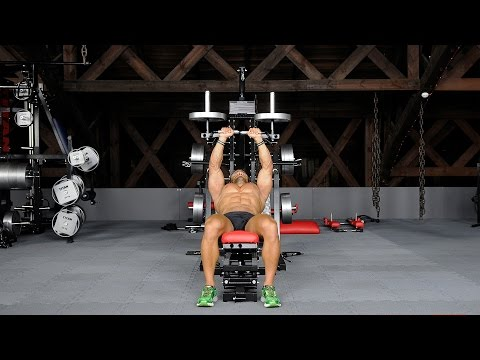 M1-JA-05 - Lever Incline Bench Press