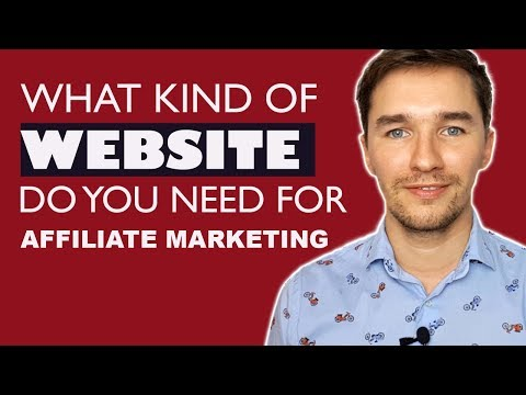 What Kind of Website Do I Need for Affiliate Marketing? - Example of an Affiliate Marketing Website