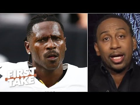 Antonio Brown's helmet issue is an excuse not to be around the Raiders – Stephen A. | First Take