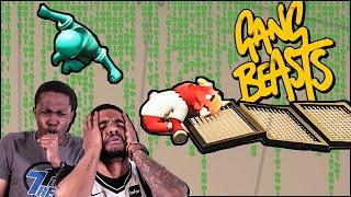 Gang Beasts Meets The MATRIX! Crazy Mid-Air Knockout!