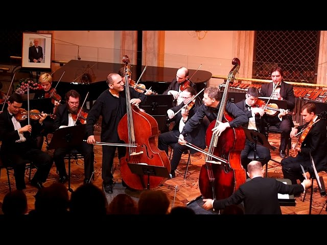 Bottesini - Passione amorosa (Alexander Parsadanov, Artem Chirkov) Moscow, March 2 2016