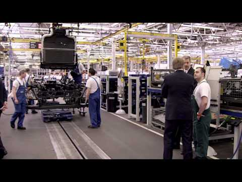 New Euro 6 DAF Trucks on assembly line video